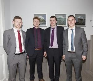 Brian Leonard, Bryan Griffin, Martin Carey, Cormac Mulvihill
